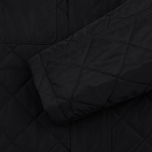 Barbour International V Twin Box Men's Quilted Jacket Black photo- 6