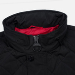 Мужская куртка Barbour International V Twin Box Quilted Black фото- 7