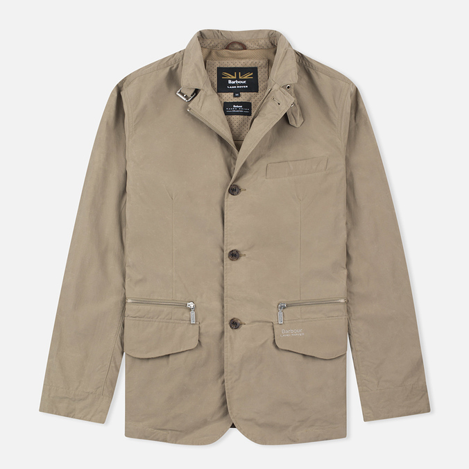 Barbour x Land Rover Jacket Sand Dark Stone