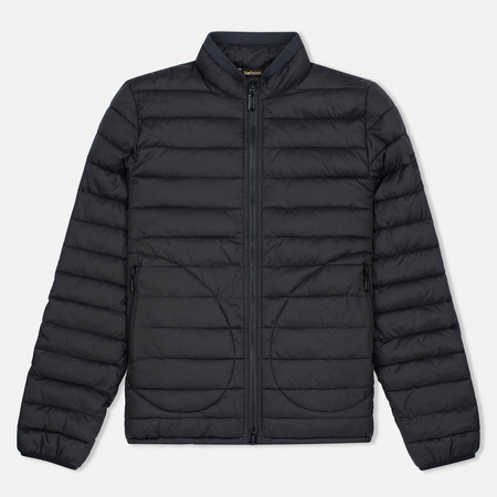 Мужская куртка Barbour x Steve McQueen International Baffle Quilted Black