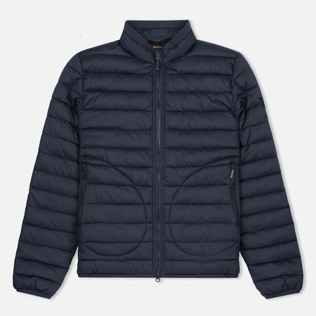 Мужская куртка Barbour x Steve McQueen International Baffle Quilted Navy