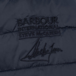 Мужская куртка Barbour x Steve McQueen International Baffle Quilted Navy фото- 7