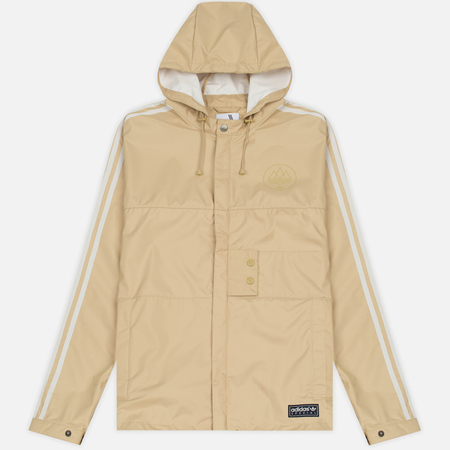 Мужская куртка ветровка adidas Originals Pleasington RJ Spezial Sand/Off White