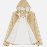 Мужская куртка ветровка adidas Originals Pleasington RJ Spezial Sand/Off White фото- 3