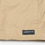 Мужская куртка ветровка adidas Originals Pleasington RJ Spezial Sand/Off White фото- 4
