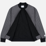 Мужская куртка бомбер adidas Originals x Reigning Champ Engineered Spacer Mesh Black Melange фото- 2