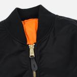 Мужская куртка бомбер Alpha Industries MA-1 Black фото- 1