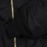 Мужская куртка бомбер Alpha Industries MA-1 Black фото- 3