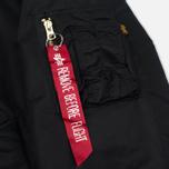 Мужская куртка бомбер Alpha Industries MA-1 Black фото- 4