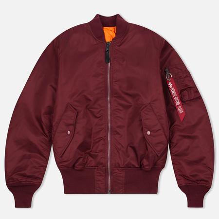Мужская куртка бомбер Alpha Industries MA-1 Burgundy