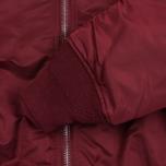 Мужская куртка бомбер Alpha Industries MA-1 Burgundy фото- 3
