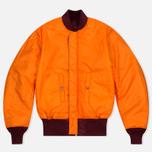 Мужская куртка бомбер Alpha Industries MA-1 Burgundy фото- 5