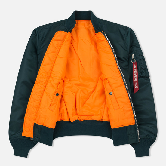 Мужская куртка бомбер Alpha Industries MA-1 Navy