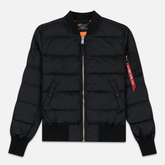 Мужская куртка бомбер Alpha Industries MA-1 Puffer Black