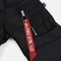Мужская куртка бомбер Alpha Industries MA-1 Puffer Black фото - 3