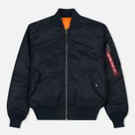 Мужская куртка бомбер Alpha Industries MA-1 Replica Blue фото- 0