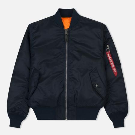 Мужская куртка бомбер Alpha Industries MA-1 Replica Blue