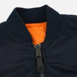 Мужская куртка бомбер Alpha Industries MA-1 Replica Blue фото- 1