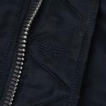 Мужская куртка бомбер Alpha Industries MA-1 Replica Blue фото- 2