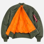Мужская куртка бомбер Alpha Industries MA-1 Sage Green фото- 2