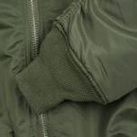 Мужская куртка бомбер Alpha Industries MA-1 Sage Green фото- 3