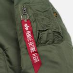 Мужская куртка бомбер Alpha Industries MA-1 Sage Green фото- 4