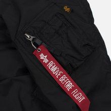 Мужская куртка бомбер Alpha Industries MA-1 TT Black фото- 5