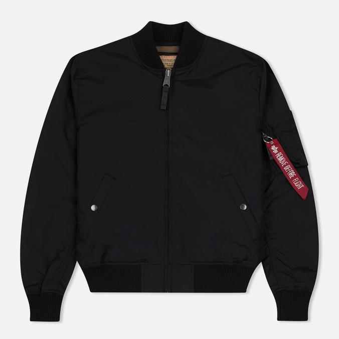 Мужская куртка бомбер Alpha Industries MA-1 TT Black