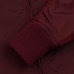 Мужская куртка бомбер Alpha Industries MA-1 TT Burgundy фото- 4