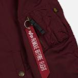 Мужская куртка бомбер Alpha Industries MA-1 TT Burgundy фото- 5