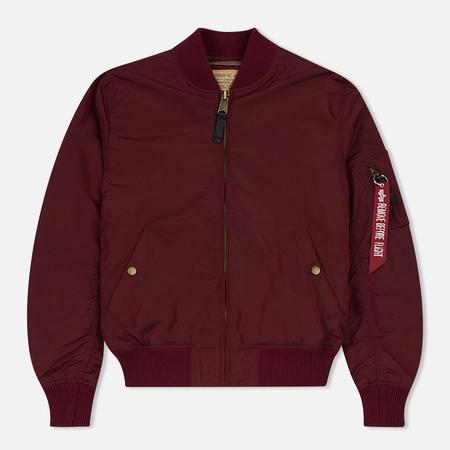 Мужская куртка бомбер Alpha Industries MA-1 TT Burgundy