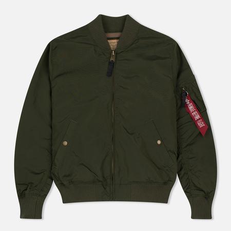 Мужская куртка бомбер Alpha Industries MA-1 TT Dark Green