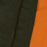 Мужская куртка бомбер Alpha Industries MA-1 TT Dark Green фото- 3