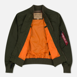 Мужская куртка бомбер Alpha Industries MA-1 TT Dark Green фото- 1