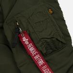 Мужская куртка бомбер Alpha Industries MA-1 TT Dark Green фото- 6
