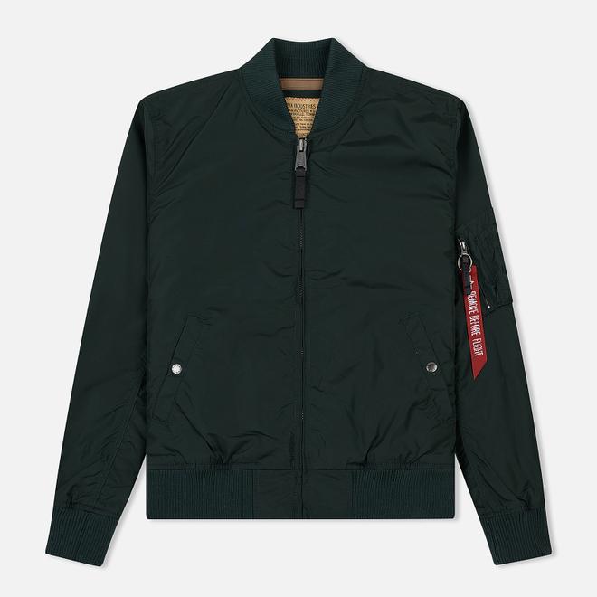 Мужская куртка бомбер Alpha Industries MA-1 TT Dark Petrol