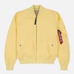 Мужская куртка бомбер Alpha Industries MA-1 TT Lemon фото- 0