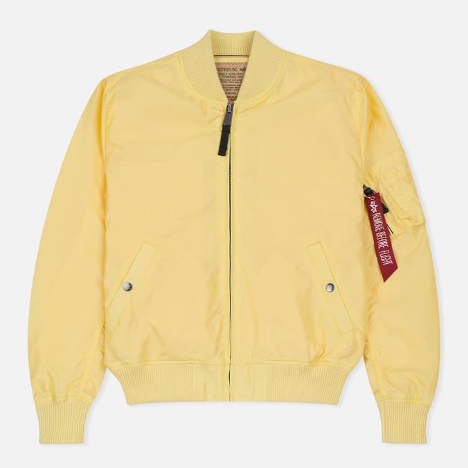 Мужская куртка бомбер Alpha Industries MA-1 TT Lemon