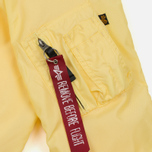 Мужская куртка бомбер Alpha Industries MA-1 TT Lemon фото- 6
