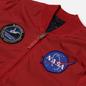 Мужская куртка бомбер Alpha Industries MA-1 TT NASA Reversible II Speed Red фото - 1