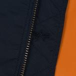 Мужская куртка бомбер Alpha Industries MA-1 TT Replica Blue фото- 3