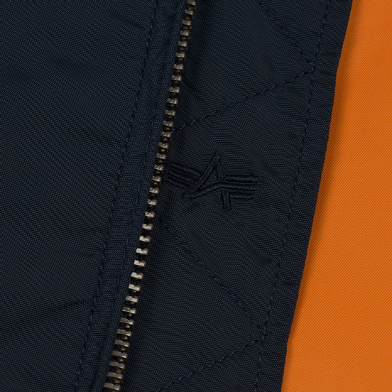 Мужская куртка бомбер Alpha Industries MA-1 TT Replica Blue