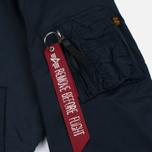 Мужская куртка бомбер Alpha Industries MA-1 TT Replica Blue фото- 5