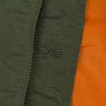 Мужская куртка бомбер Alpha Industries MA-1 TT Sage Green фото- 3