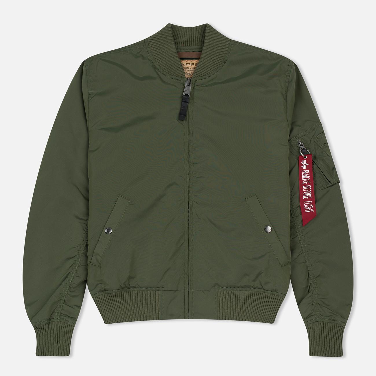 Мужская куртка бомбер Alpha Industries MA-1 TT Sage Green