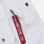Мужская куртка бомбер Alpha Industries MA-1 TT White фото- 5