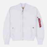 Мужская куртка бомбер Alpha Industries MA-1 TT White фото- 0