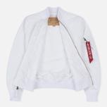 Мужская куртка бомбер Alpha Industries MA-1 TT White фото- 1