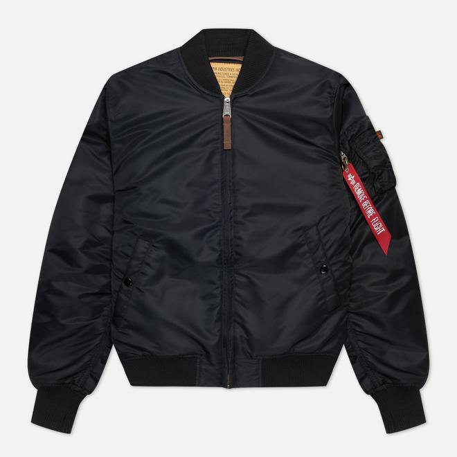 Мужская куртка бомбер Alpha Industries MA-1 VF 59 Black