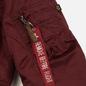 Мужская куртка бомбер Alpha Industries MA-1 VF 59 Burgundy фото - 5